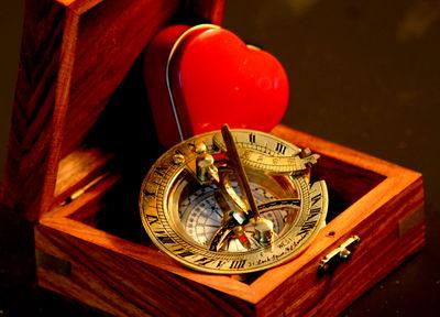 Kursrichtung , Orientierung, Kompass, Intuition © Liz Collet