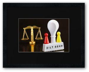 Einstweiliger Rechtsschutz © Liz Collet