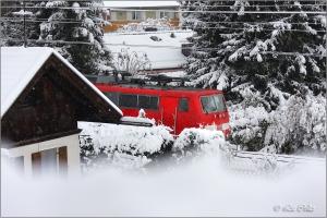 Aber die Bahn kommt ....© Liz Collet