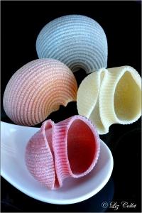 Pipe Rigate Quattro Colori © Liz Collet