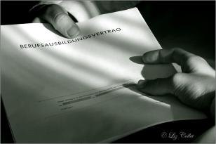 Ausbildungsvertrag © Liz Collet