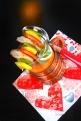 Fränkischer Bratwurst-Spiess mit Gemüsesuppe© Liz Collet