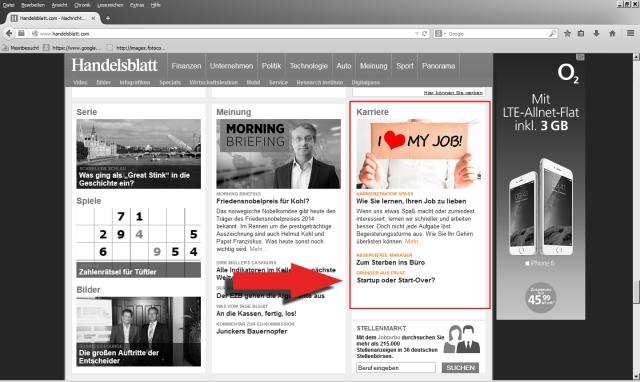 Handelsblatt Online 10.9.2014 Screenshot 3