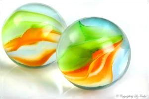 Glaskugeln, Spiel, Murmeln, Marbles, Kugel, Glas, Fotografie