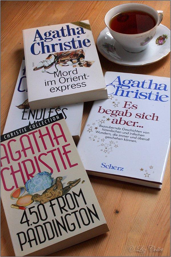 In mörderisch guter Gesellschaft von Agatha Christie © Liz Collet